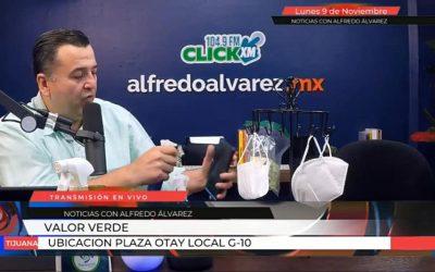 Alfredo Alvarez corroborando la efectividad de Sani Bovs